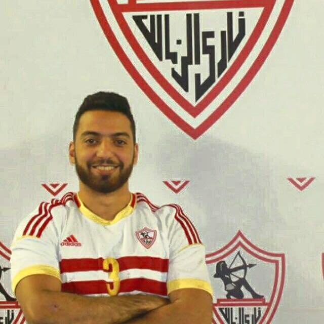 محمد محسن لاعب نادي الزمالك لكرة اليد ومنتخبي مصر للناشئين والشباب