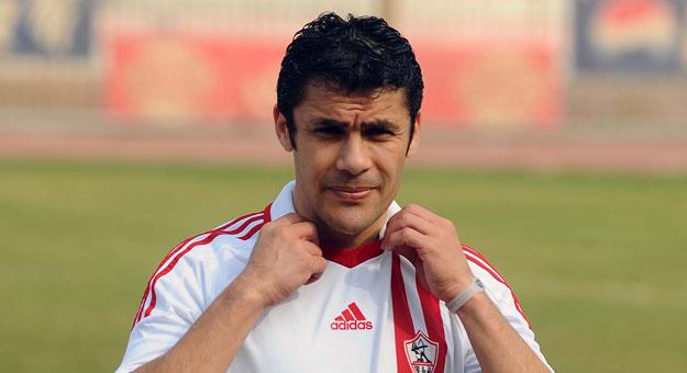 اللاعب أحمد حسن