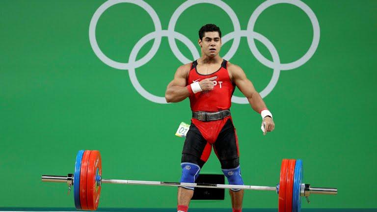 البطل الأوليمبي محمد إيهاب