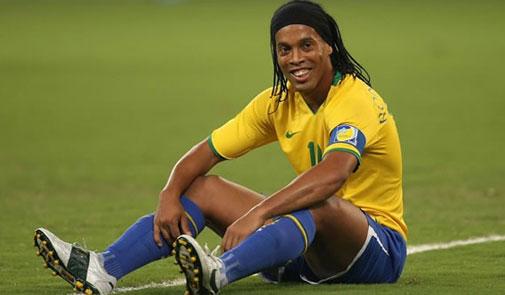 """لاعب كرة القدم البرازيلي """"رونالدينيو"""""""