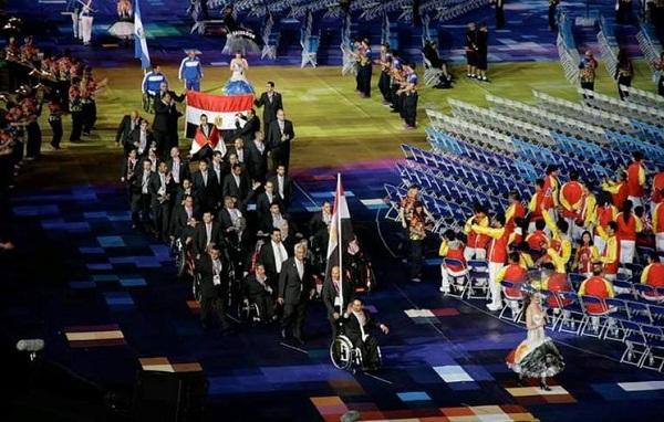 """البعثة المصرية بدروة الألعاب البارالمبية بـ""""ريو دي جانيرو"""""""