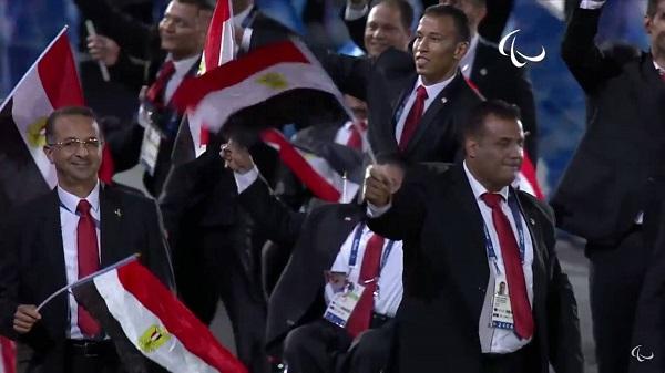البعثة المصرية البارالمبية بريو دي جانيرو