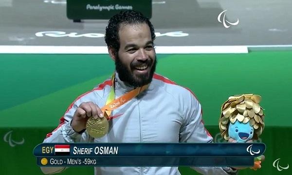 الرباع المصري شريف عثمان