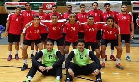 """منتخب مصر للناشئين لكرة اليد """"مواليد 98"""""""