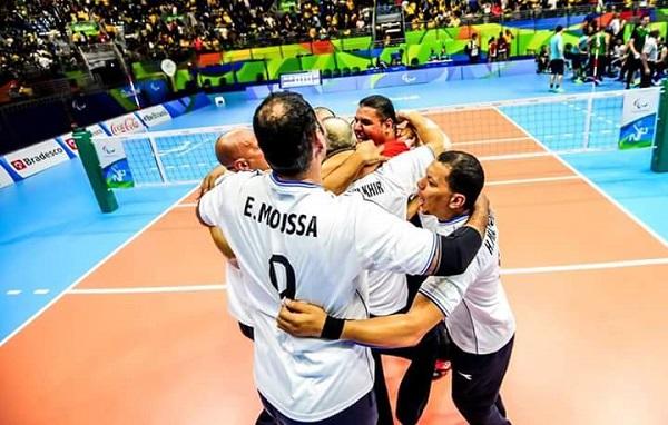 المنتخب المصري للطائة جلوس بالبارالمبياد 2016