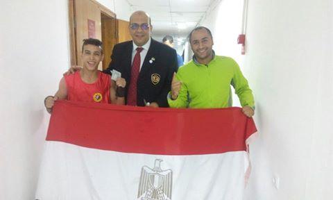 اللاعب علي ناصر بعد قوزه بالذهبية