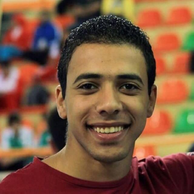 عمر عبد الرحمن لاعب منتخب مصر للكاراتيه