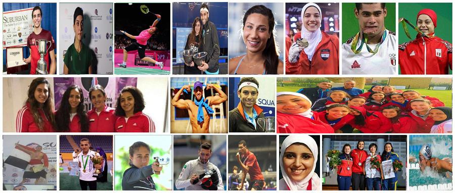لاعبون مصريون برزت أسمائهم عالميًأ