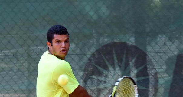 لاعب التنس المصري كريم مأمون