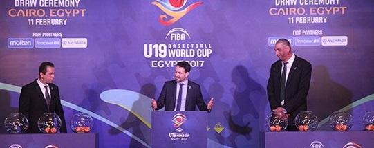 قرعة كأس العالم للسلة 2017