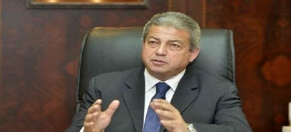 وزير الشباب والرياضة المهندس خالد عبد العزيز