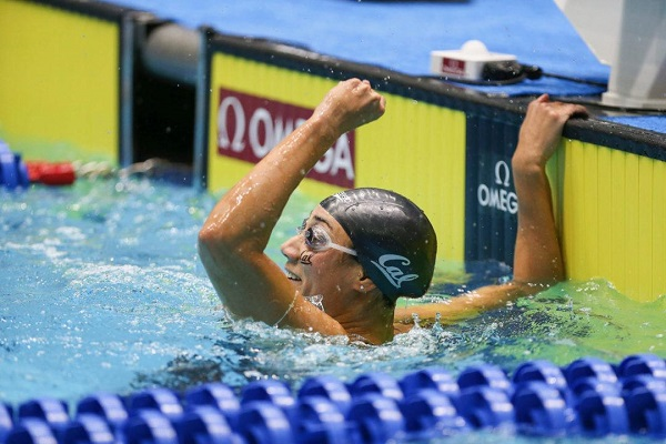 السباحة فريدة عثمان