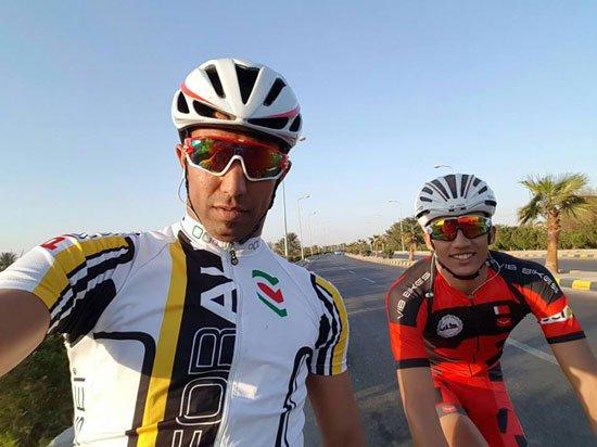 لاعب الدراجات إسلام ناصر