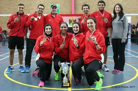 المنتخب المصري لكرة الريشة