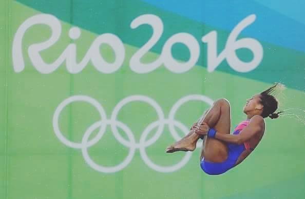 اللاعبة المصرية الأولمبية مها عبد السلام