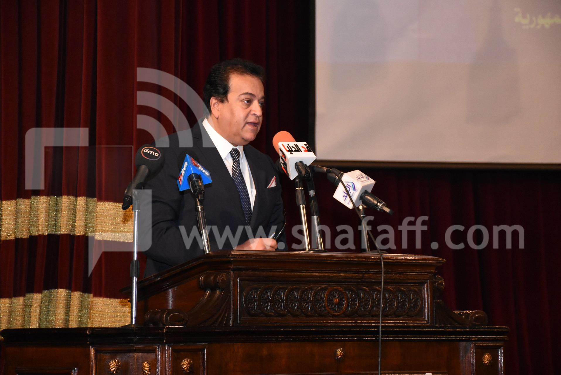 وزير التعليم العالي والبحث العلمي الدكتور خالد عبد الغفار