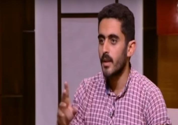 """الطالب بـ""""فنون الإسكندرية"""" مروان سلامة"""