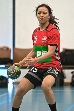 رحاب جمعة أصغر محترفة مصرية لكرة اليد بالخارج